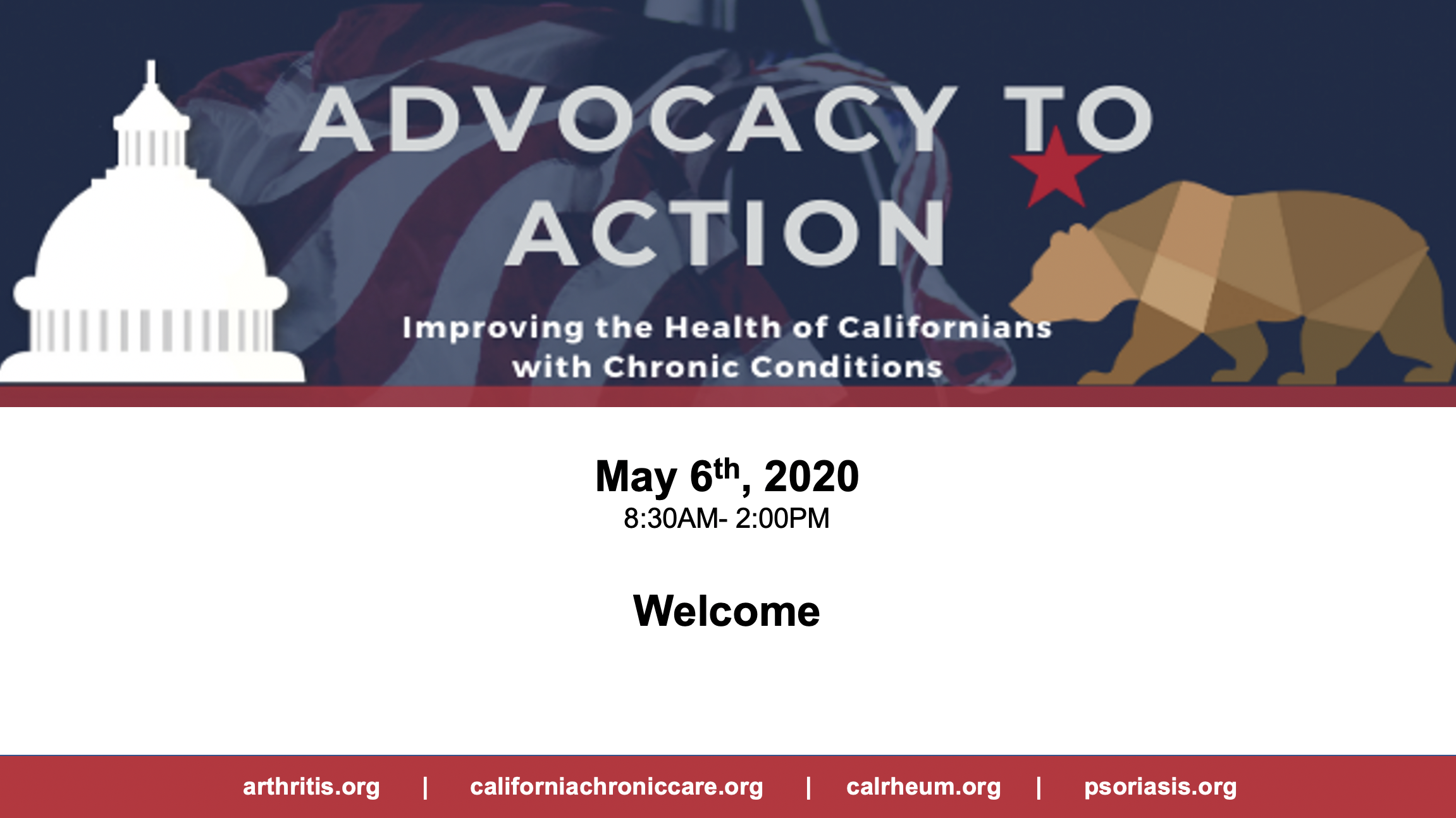 Advocacy to Action Combined Chronic Disease Advocacy Day